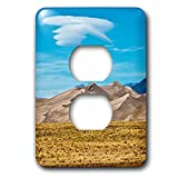 3dRose Danita Delimont - Colorado - USA, Colorado, Alamosa, Great Sand Dunes National Park and Preserve - Light Switch Covers - 2 plug outlet cover (lsp_278720_6)