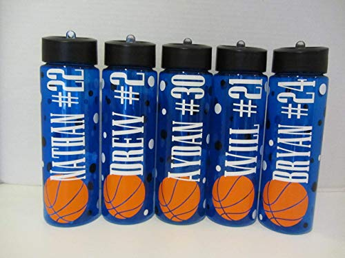 (Personalized sport 24 ounce free water bottle - new colored bottles)