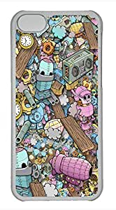 iPhone 5c case, Cute Toybox iPhone 5c Cover, iPhone 5c Cases, Hard Clear iPhone 5c Covers