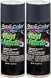Dupli-Color HVP111 Charcoal Gray High Performance Vinyl and Fabric Spray - 11 oz. (2 Pack)