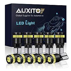 AUXITO 194 LED Light Bulb 6000K White 16...