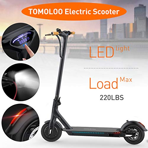 "TOMOLOO Speaker LED Lights Two-Wheel Balancing UL2272 6.5"" and"