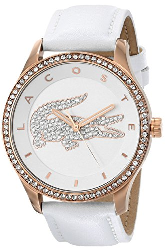lacoste-womens-2000821-victoria-rose-gold-tone-stainless-steel-watch-with-white-leather-band