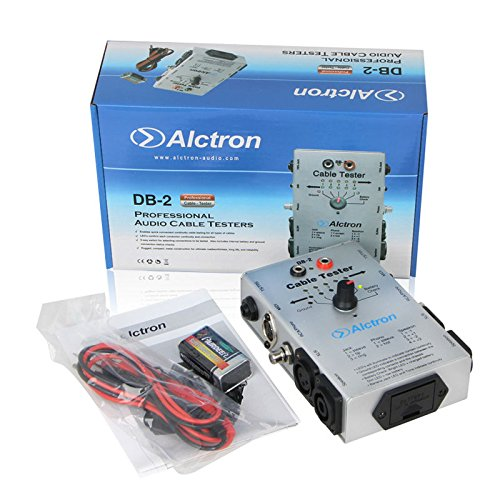 Alctron DB-2 Audio Cable Tester (XLR, RCA, Speakon, RCA/PHONO,TS/TRS/, MIDI) by UKINGMEI