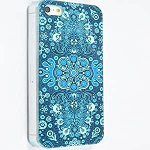 QHY Special Design Pattern Polycarbonate Hard Cases for iPhone 5/5S , Multicolor