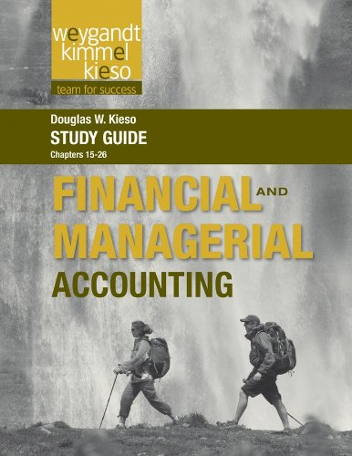Download Study Guide to accompany Weygandt Financial and Managerial, 1st Edition, Volume 2 Pdf