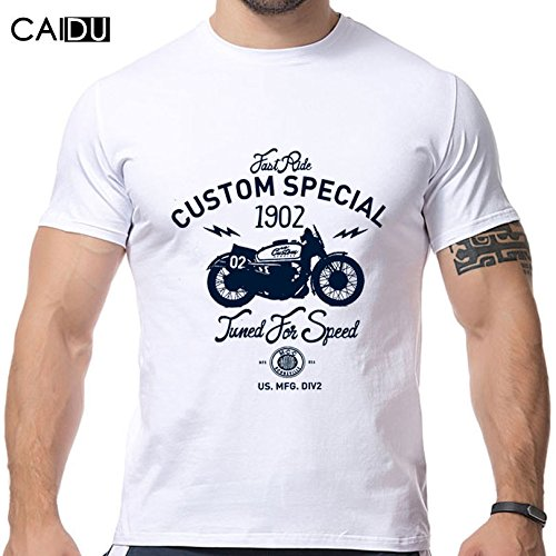 Youth Grey Reebok Short (2016 New Design Motorcycle Printing T Shirts Short Sleeve O Neck Strong Men Shirts Brand New)