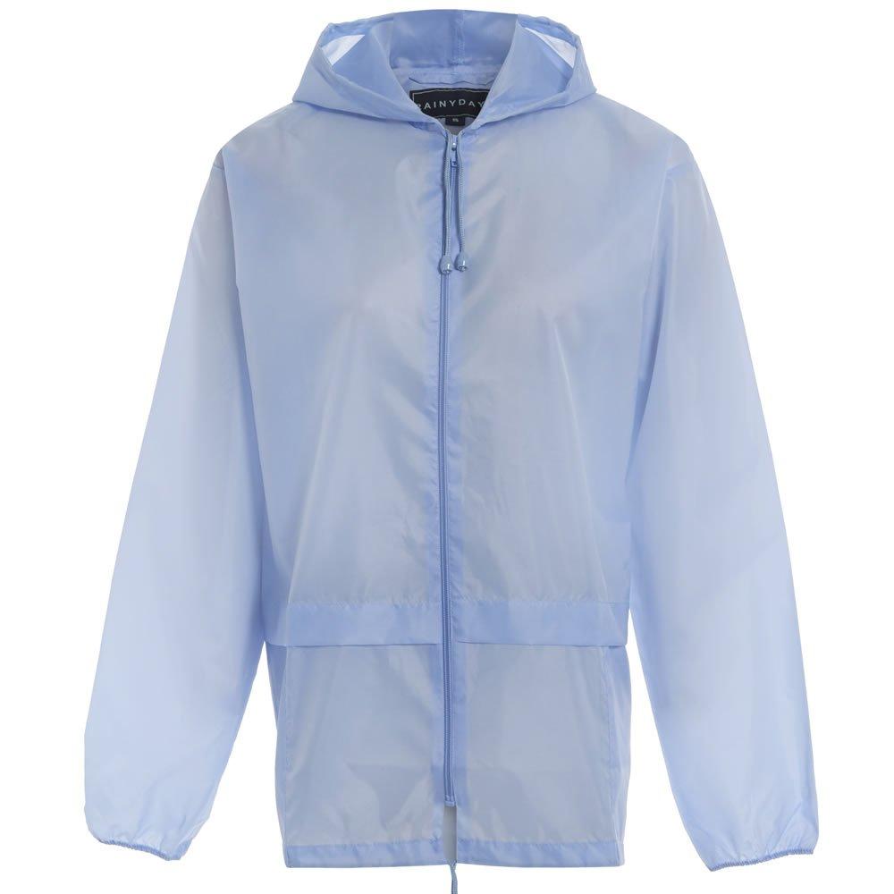 Army And Workwear Kids Boys Girls Lightweight Rain Jacket Coat Hooded Pac A Way Showerproof Mac
