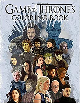The Unofficial Game of Thrones Coloring Book For Adults - Preview ... | 335x260