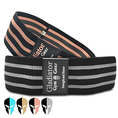 BOOTY GLUTE BANDS - Fabric Fitness Resistance Bands - 2 Pack Gym Bands - Thick Resistance Bands - Glute Bands For Women - Workout Bands - Resistance Loop Bands - Booty Resistance Bands - Hip Leg Bands