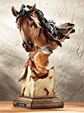 Sunka Wakan - Horse Sculpture by Arich Harrison