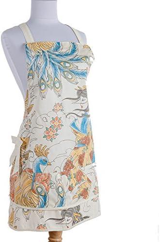 Tattoo delantal, japonés Geisha, Sexy Estilo insolencia, pavos reales, peces Koi diseños: Amazon.es: Hogar