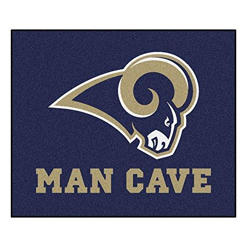 FANMATS 14375 NFL St. Louis Rams Nylon Universal Man Cave Tailgater Rug