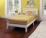Hillsdale 1723-330 Aiden Twin Bed Set, 35.25'' H x 42.25'' W x 77'' D, White
