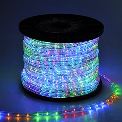 Holiday Decorative LED Rope Light Christmas Lighting 150ft - Multi-Color