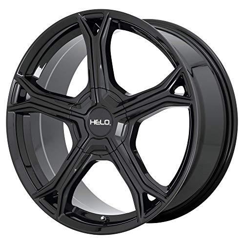 HELO HE915 GLOSS BLACK HE915 20x8.5 5x114.30/5x127.00 GLOSS BLACK (40 mm) WHEELS