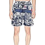 Custom I Love New York Statue of Liberty Baseball Mens Guys Summer Boardshort Beach Shorts