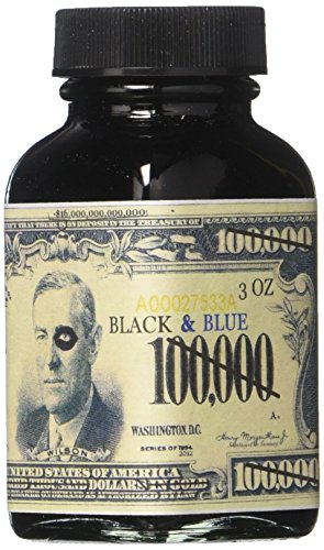 Noodler's Ink Fountain Pen Bottled Ink, 3oz, Q-E'ternity