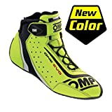 OMP Unisex-Adult ONE EVO SHOES Fluo yellow 43
