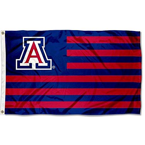 Arizona Wildcats Stars and Stripes Nation Flag