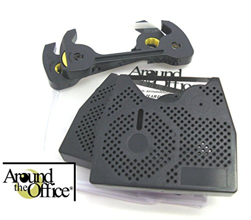 Around The Office Compatible Smith Corona Typewriter Ribbon & Correction Tape for Dle 250.This Package Includes 2 Typewriter Ribbons and 2 Lift Off Tapes by Around The Office