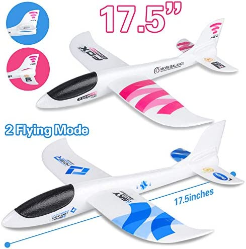 Birthday Party Favors Boys Girls Pack of 72 Airplane Gliders Playko Paper Airplanes for Kids Plane Gliders in Assorted Colors and Styles Lightweight Toy Gliders 4 inch Mini Airplanes