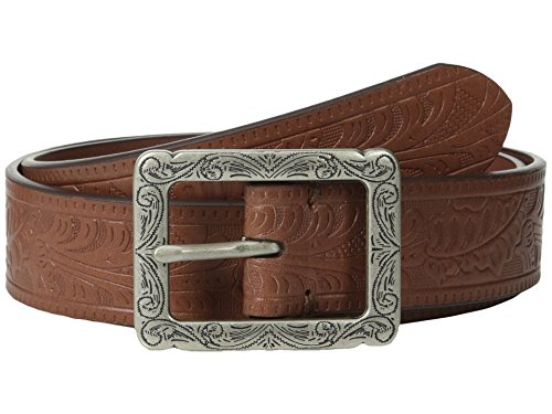 Lauren Ralph Lauren Textured Leather Belt Cuoio Med (Lauren Ralph Lauren Leather C Buckle Belt)