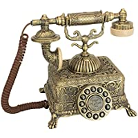 Antique Phone - Grand Emperor 1933 Rotary Telephone - Corded Retro Phone - Vintage Decorative Telephones