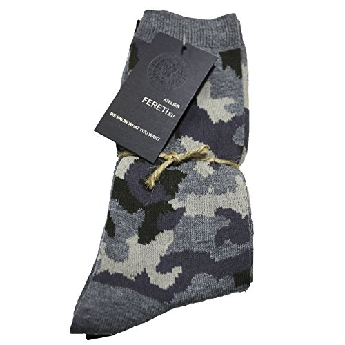 FERETI Chaussettes Hommes Militaire Camouflé Urban Camouflage Cam Jungle Style D'hiver Classique 2