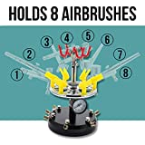 AIRBRUSH STATION for 6 AIRBRUSHES-Auto