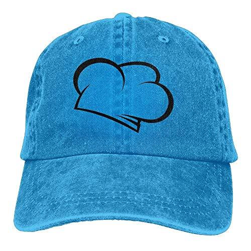Hats Men Cowboy Women for Cowgirl Sport Cap Skull Hat Hat Denim DEFFWB Chef PZwzpqRRT