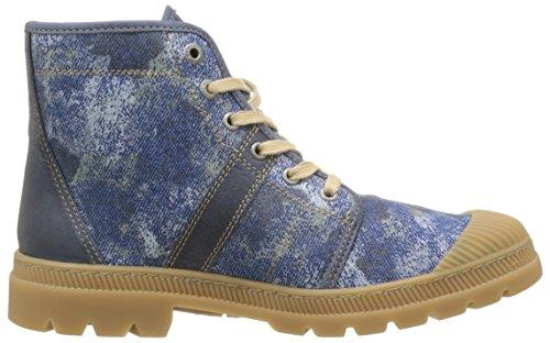 Pataugas Authenti de F2b - Zapatillas de deporte Mujer Azul - Bleu (Jean)