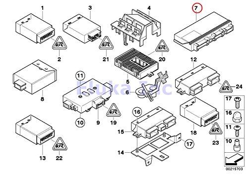 - BMW Genuine Ecm Body Control Module 525i 525xi 530i 530xi 545i 550i M5 528i 528xi 535i 535xi 550i 645Ci 650i M6 650i 645Ci 650i M6 650i
