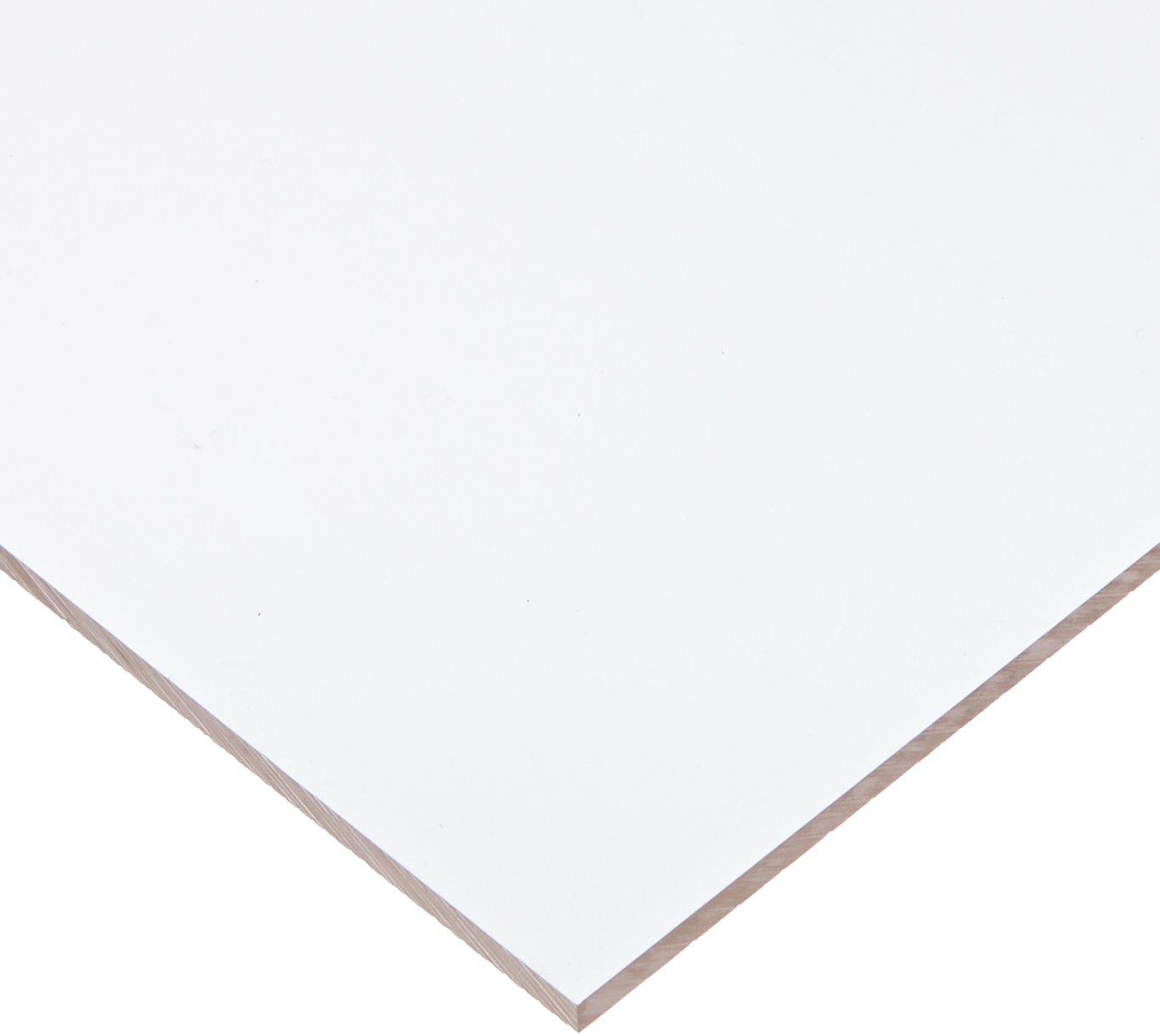 Cast Acrylic Sheet, Clear, 12'' x 12'' Size