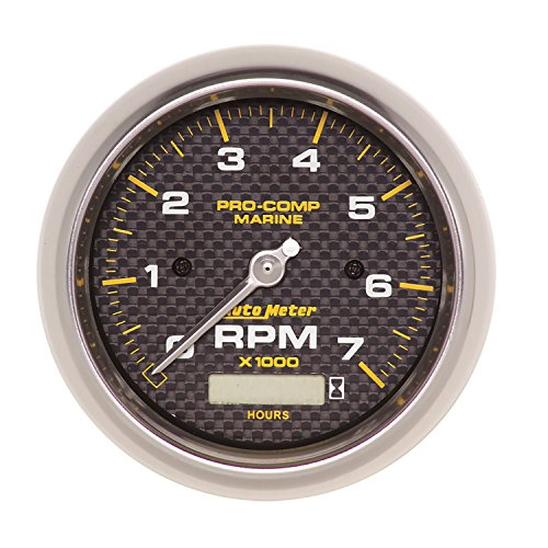 Auto Meter AutoMeter 200890-40 Gauge, Tachometer, 3 3/8