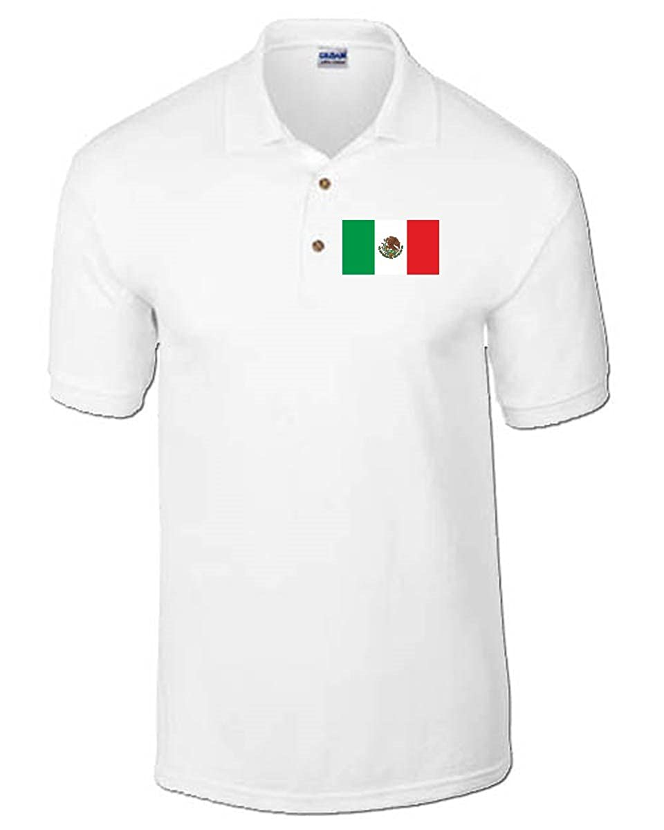 T-Shirtshock - Polo TM0212 Mexico Flag flag, Talla XXL: Amazon.es ...