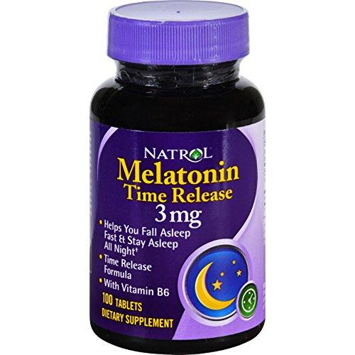 Natrol Melatonin Release Dietary Supplement