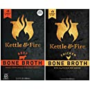 Kettle & Fire - Organic Bone Broth Combo 2 Pack - (Beef and Chicken)