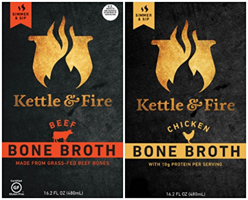 Kettle Fire Organic Broth Chicken product image
