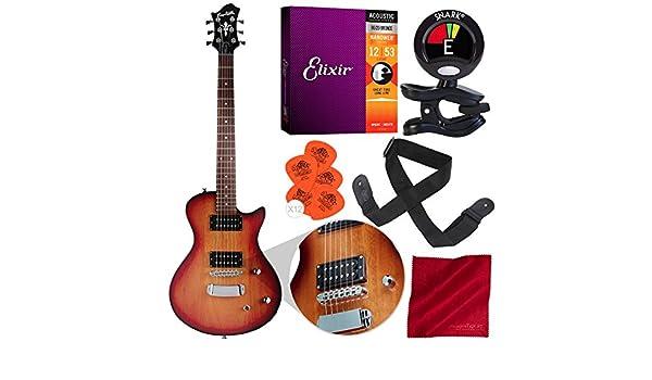 Hagstrom Ultra Swede ESN - Guitarra eléctrica de tabaco con sol ...