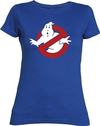 Camisetas EGB Camiseta Chica Cazafantasmas ochenteras 80´s Retro: Amazon.es: Ropa y accesorios