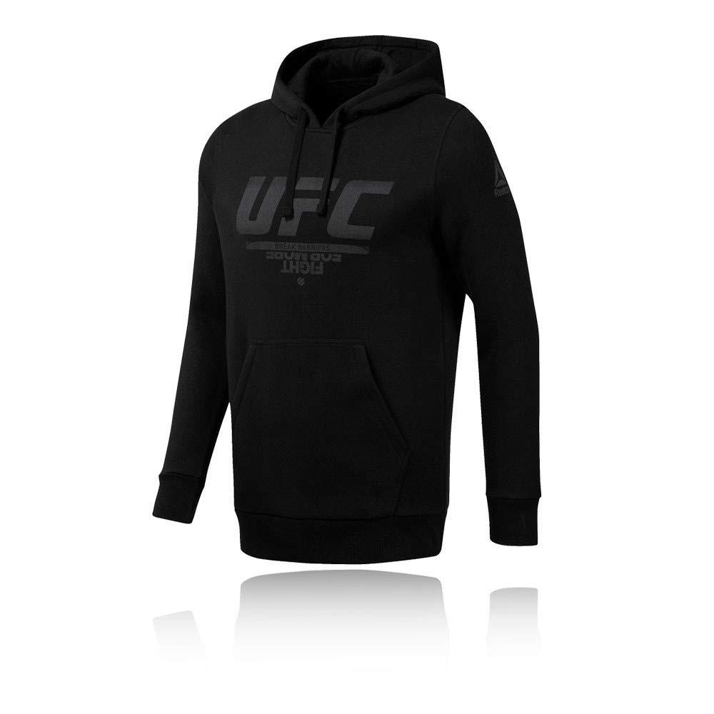 Reebok UFC FG Pullover Hoodie Sudadera, Hombre
