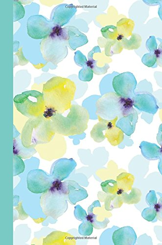 Journal: Watercolor Spring Flowers 6x9 - GRAPH JOURNAL - Journal with graph paper pages, square grid pattern (Watercolor Flowers Graph Journal Series) PDF ePub fb2 book