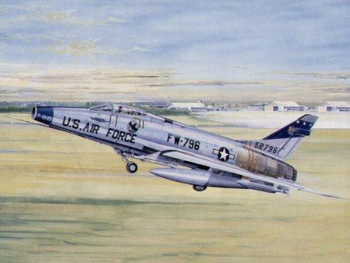トランペッター 1/32 米空軍 F-100D スーパーセイバー プラモデル B000RZA742