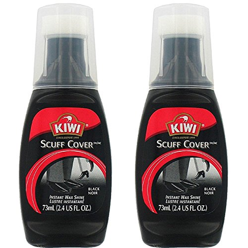 KIWI Scuff Cover, Black 2.40 oz (Pack of 2)