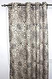 Ellis Curtain Cadogen Lined Grommet Panel, 50 x 63″, Grey For Sale