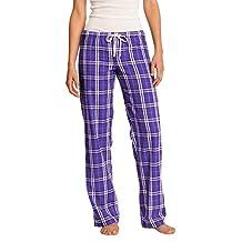 District Women's Flannel Plaid Pant