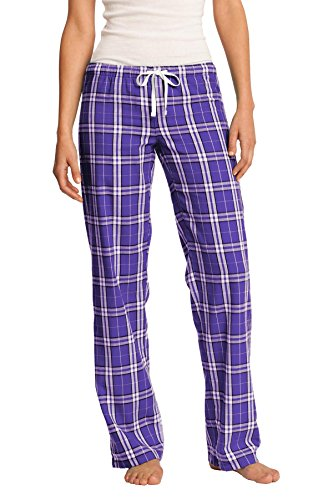 District - Pantalón - relaxed - para mujer multicolor morado Medium