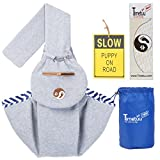 Timetuu-BUY-Hands-Free-dog-Carrier-Sling-Soft-Zipped-POCKET-Waterproof-BAG-for-Small-Dogs-Cat-Rabbit-Pets-Puppies-Reversible-double-sided-tote-Pouch-comfortable-shoulder-carry-Travel-kitty-puppy