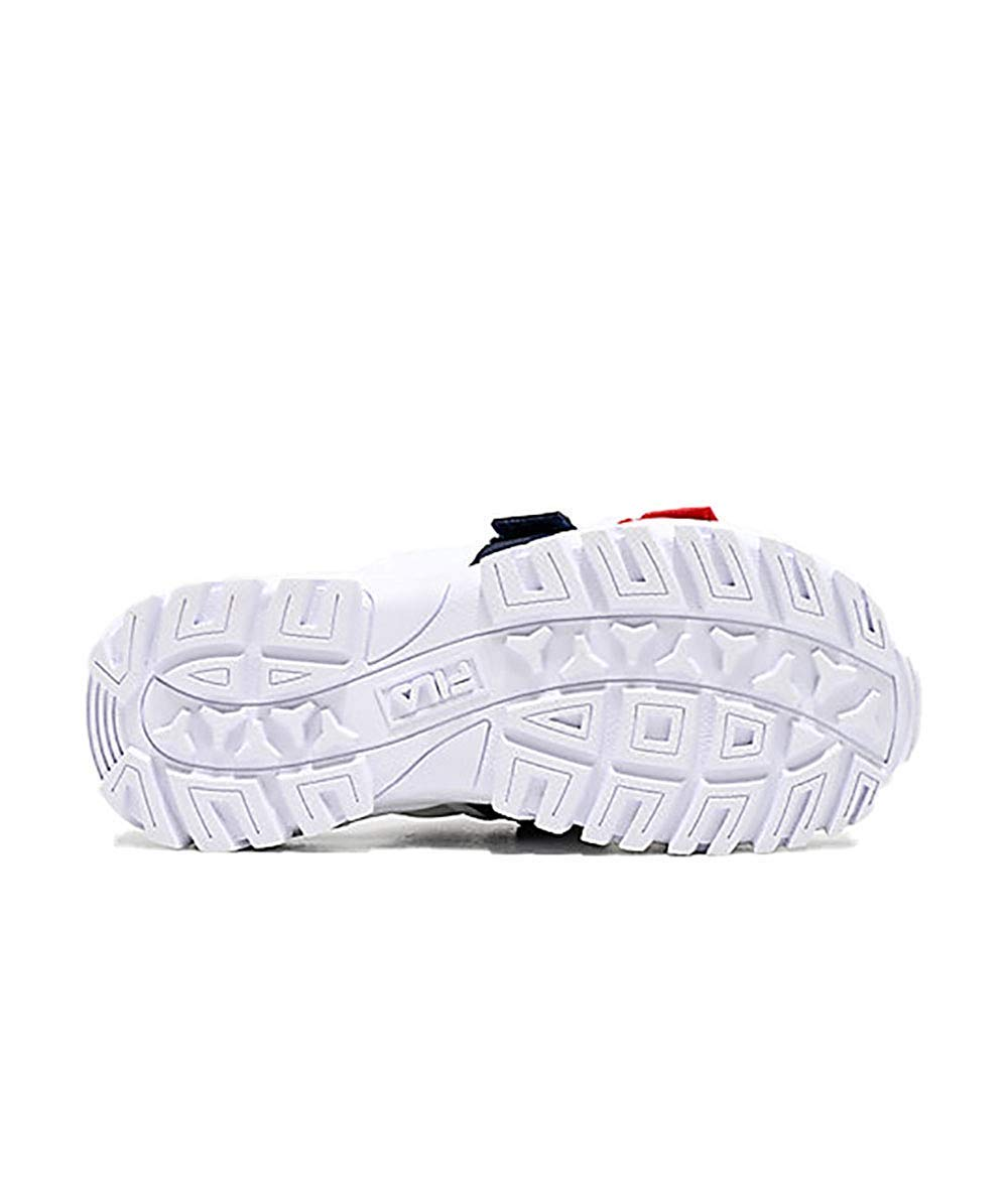 Fila Women's Outdoor Slide Shoes White/Navy/Red 11 by Fila